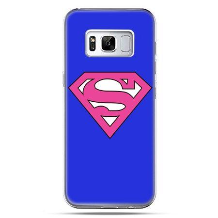 Etui na telefon Samsung Galaxy S8 Plus - Supergirl