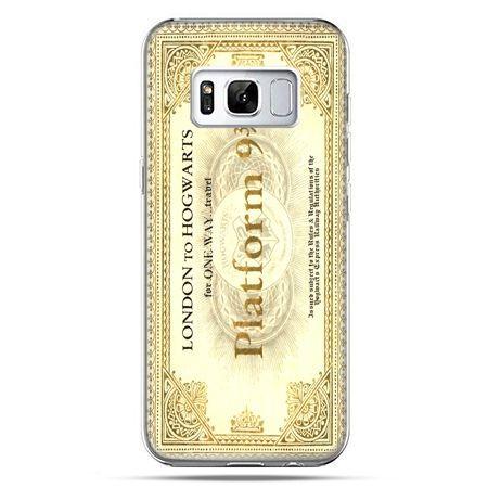 Etui na telefon Samsung Galaxy S8 Plus - bilet platform 9 3/4 Harry Potter