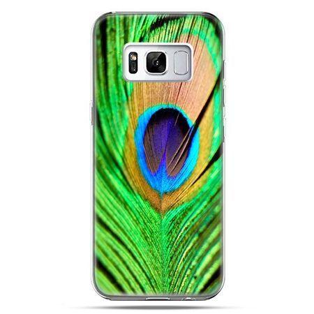 Etui na telefon Samsung Galaxy S8 Plus - pawie oko