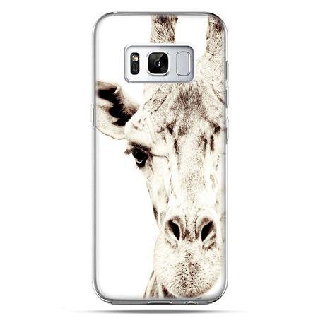 Etui na telefon Samsung Galaxy S8 Plus - żyrafa
