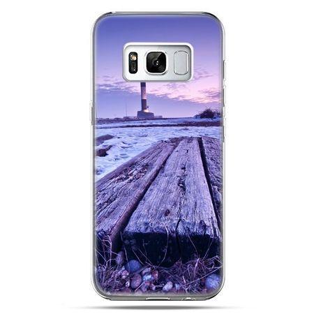 Etui na telefon Samsung Galaxy S8 Plus - latarnia morska zmierzch