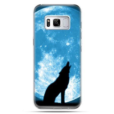 Etui na telefon Samsung Galaxy S8 Plus - Wilk nocny