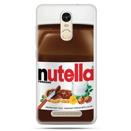 Etui na Xiaomi Redmi Note 3 - Nutella czekolada słoik