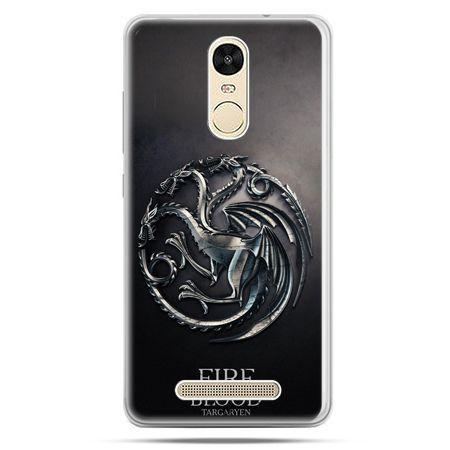 Etui na Xiaomi Redmi Note 3 - Gra o Tron Targaryen house herb