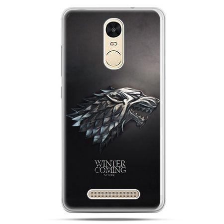 Etui na Xiaomi Redmi Note 3 - Gra o Tron Stark Winter is coming