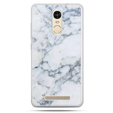 Etui na Xiaomi Redmi Note 3 - biały marmur