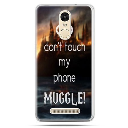 Etui na Xiaomi Redmi Note 3 - Don`t touch ..Muggle harry Potter