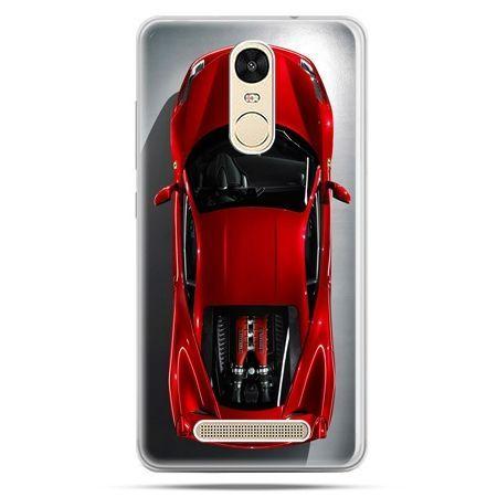Etui na Xiaomi Redmi Note 3 - czerwone Ferrari