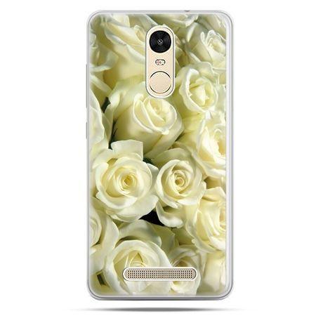 Etui na Xiaomi Redmi Note 3 - białe róże