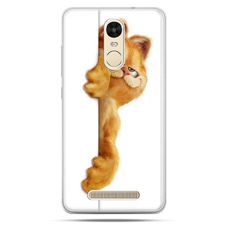Etui na Xiaomi Redmi Note 3 - Kot Garfield