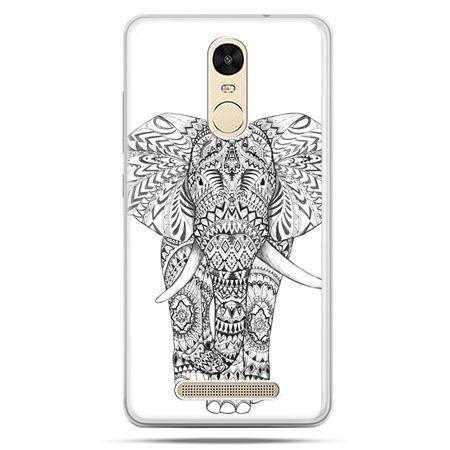 Etui na Xiaomi Redmi Note 3 - Indyjski słoń