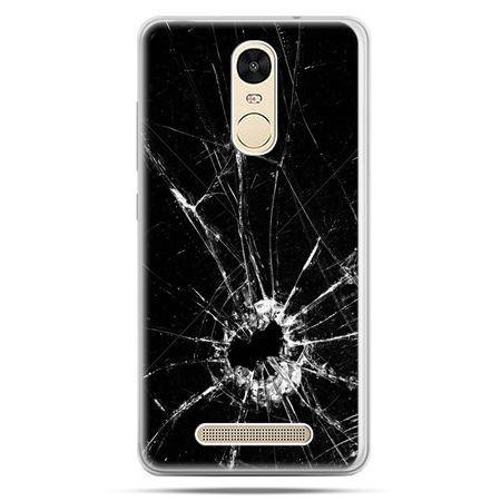Etui na Xiaomi Redmi Note 3 - rozbita szyba