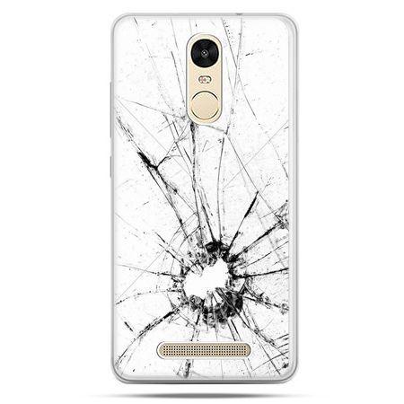 Etui na Xiaomi Redmi Note 3 - rozbita szybka