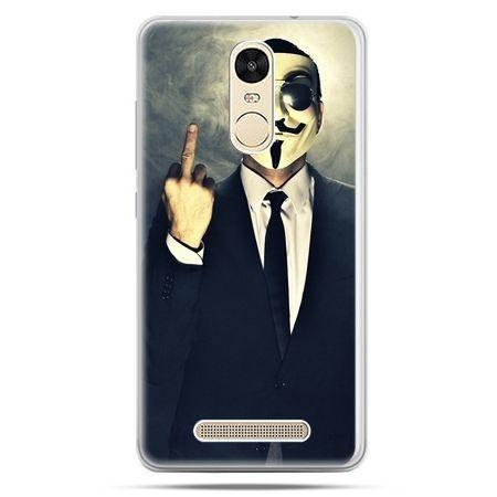 Etui na Xiaomi Redmi Note 3 - Anonimus Fuck You