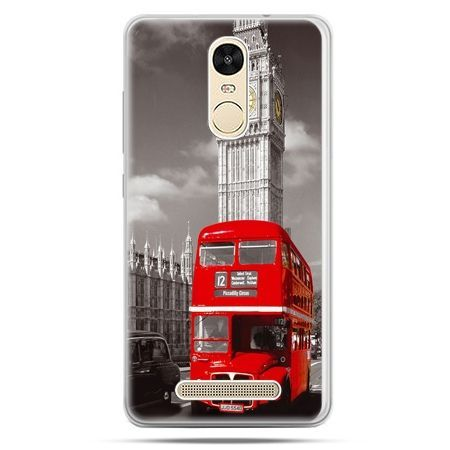 Etui na Xiaomi Redmi Note 3 - czerwony autobus londyn