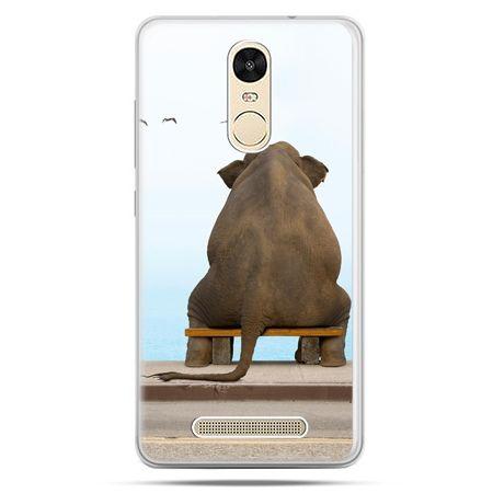 Etui na Xiaomi Redmi Note 3 - zamyślony słoń