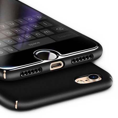 Etui na telefon iPhone 7 Slim MattE - czarny.