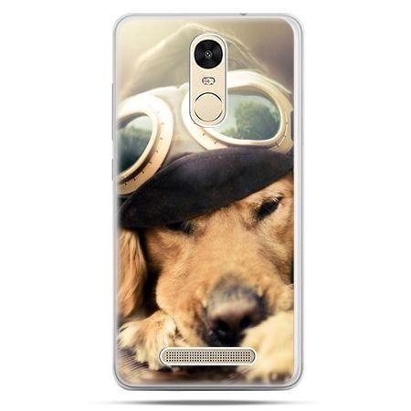 Etui na Xiaomi Redmi Note 3 - pies w okularach