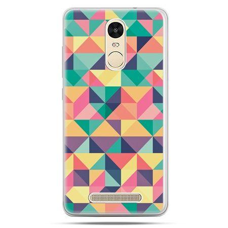 Etui na Xiaomi Redmi Note 3 - kolorowe trójkąty
