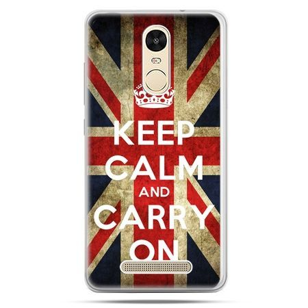 Etui na Xiaomi Redmi Note 3 - Keep calm and carry on