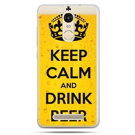 Etui na Xiaomi Redmi Note 3 - Keep calm and drink beer