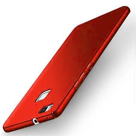 Etui na telefon Huawei P9 Lite Slim MattE - czerwony.