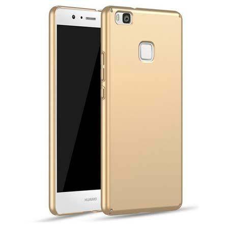 Etui na telefon Huawei P9 Lite - Slim MattE - Złoty.