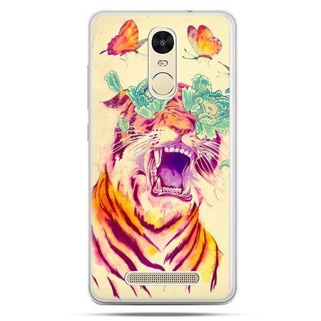 Etui na Xiaomi Redmi Note 3 - egzotyczny tygrys