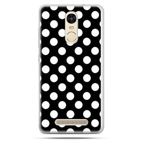 Etui na Xiaomi Redmi Note 3 - Polka dot czarna