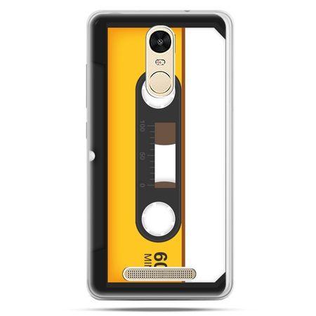 Etui na Xiaomi Redmi Note 3 - kaseta magnetofonowa