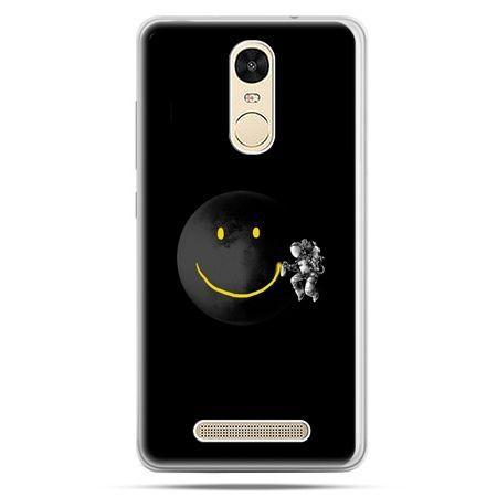 Etui na Xiaomi Redmi Note 3 - uśmiechnięta planeta
