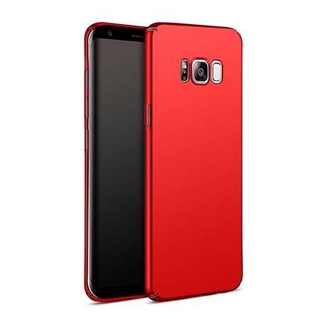 Etui na telefon Samsung Galaxy S8 Slim MattE - czerwony.