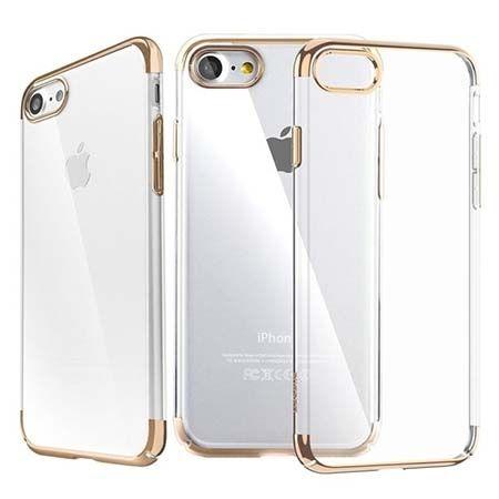 Etui na telefon iPhone 7 - Baseus Platina - złoty.