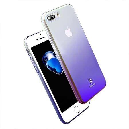 Etui na telefon iPhone 7 Plus - Baseus Aurora - czarny.