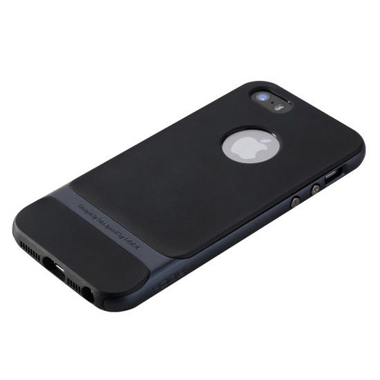 Etui na telefon iPhone 6 Plus Rock Royce - grafitowe.