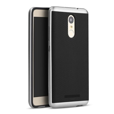 Etui na Xiaomi Redmi Note 3 bumper Neo - srebrny.