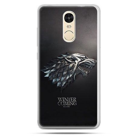 Etui na Xiaomi Redmi Note 4 - Gra o Tron Stark Winter is coming