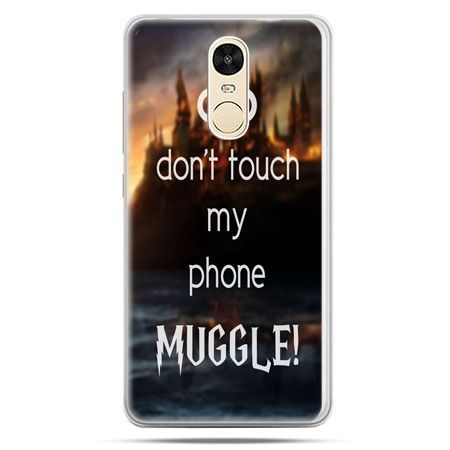 Etui na Xiaomi Redmi Note 4 - Don`t touch ..Muggle harry Potter