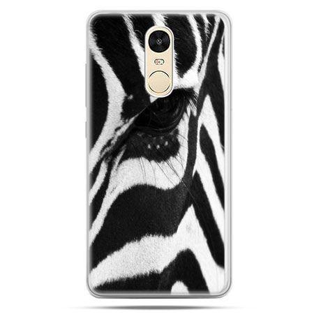 Etui na Xiaomi Redmi Note 4 - zebra