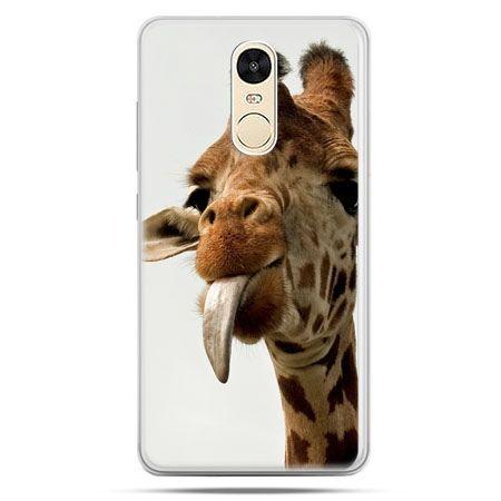 Etui na Xiaomi Redmi Note 4 - żyrafa z językiem