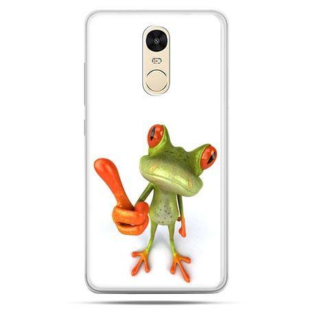 Etui na Xiaomi Redmi Note 4 - śmieszna żaba