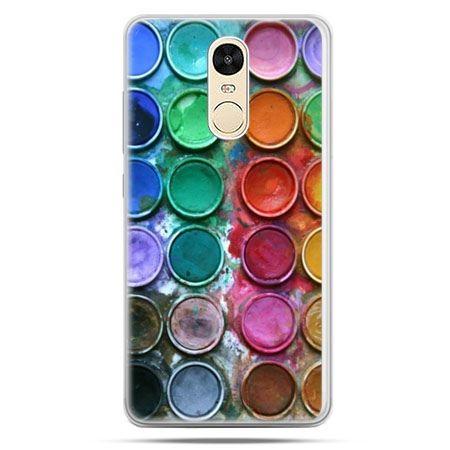 Etui na Xiaomi Redmi Note 4 - kolorowe farbki