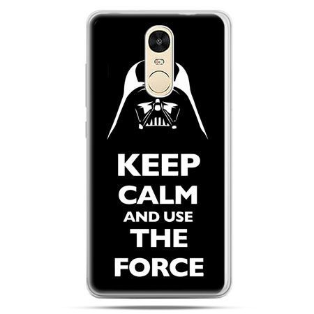 Etui na Xiaomi Redmi Note 4 - Keep calm and use the force