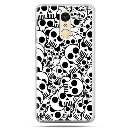 Etui na Xiaomi Redmi Note 4 - czaszki