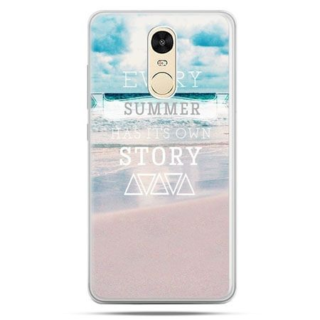 Etui na Xiaomi Redmi Note 4 - Summer has its own story