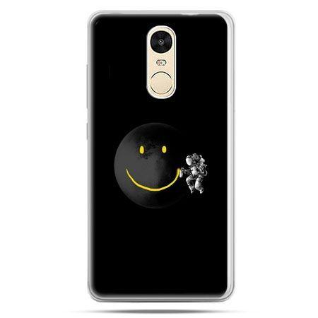 Etui na Xiaomi Redmi Note 4 - uśmiechnięta planeta