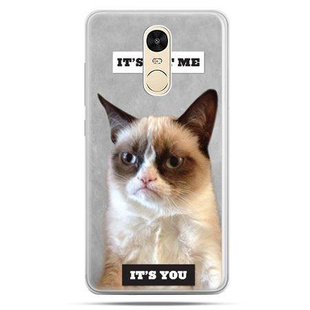Etui na Xiaomi Redmi Note 4 - grumpy kot zrzęda