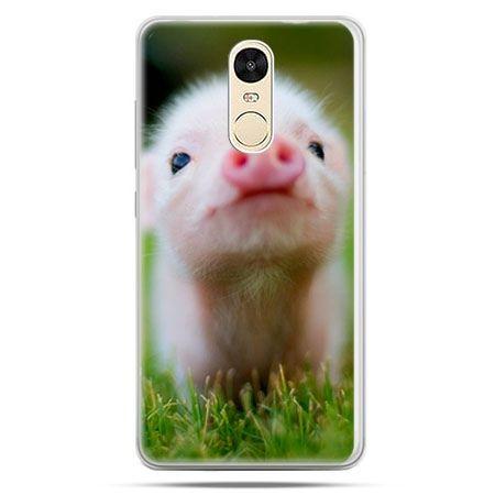 Etui na Xiaomi Redmi Note 4 - świnka