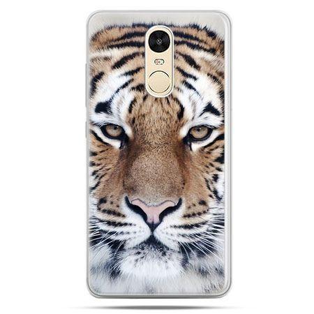 Etui na Xiaomi Redmi Note 4 - śnieżny tygrys