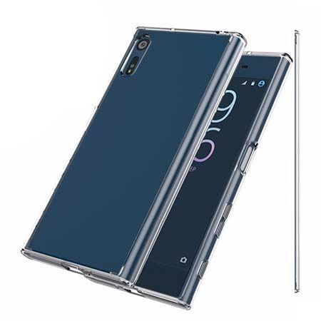 Etui na Sony Xperia XZ silikonowe crystal case - bezbarwne.